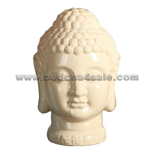 Porcelain-White-Buddha-head-Front-Table-Decor