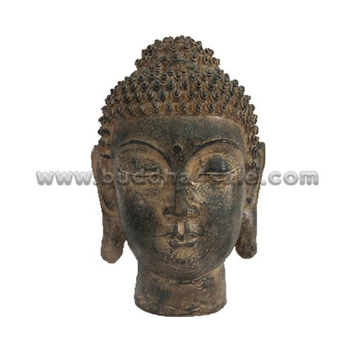 Resin-Thai-Antique-Buddha-Head-Front-Table-Decor