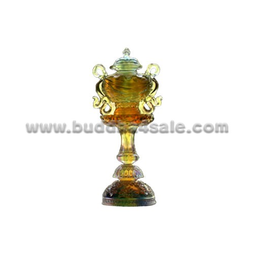 eight auspicious symbol vase