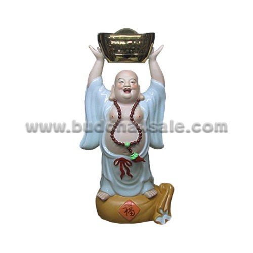 fat buddha happy laughing buddha for sale antique jingdezhen ceremic pottery china
