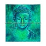 buddha head portrait abstract modern oil painting drawing buddhism picture on canvas wall decor artwork
